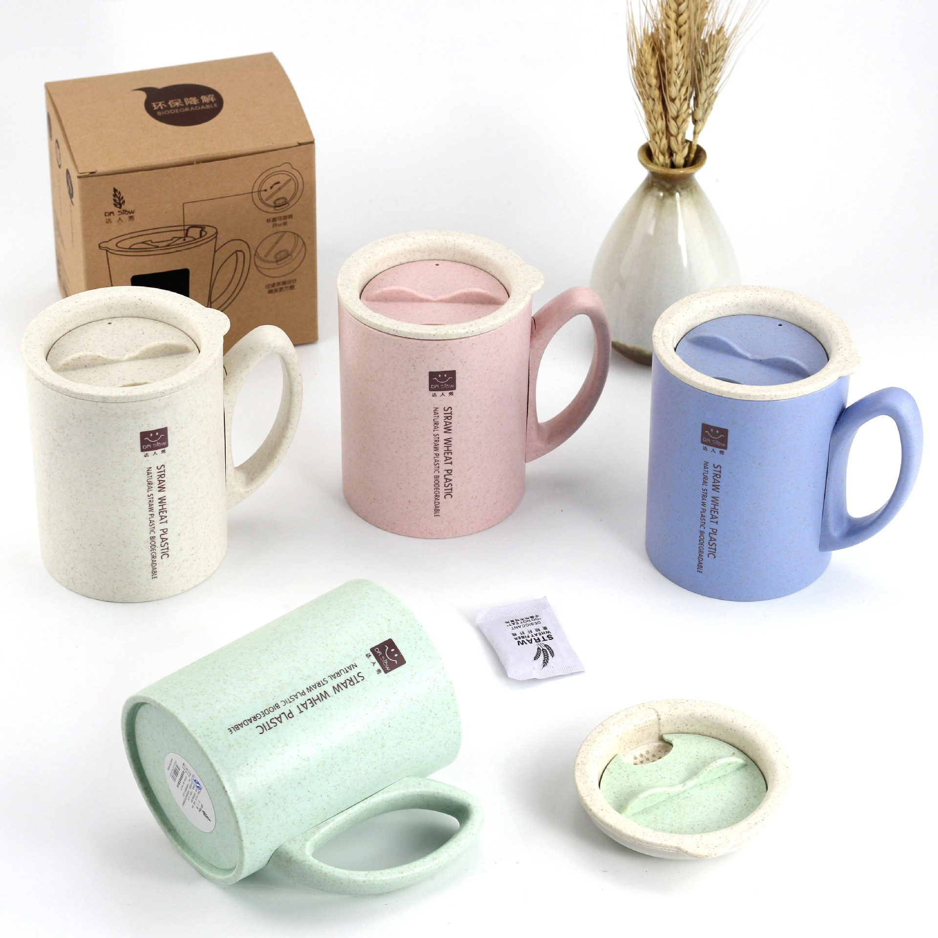 the office mugs. 450ml Coffee Milk Tea Mug Wheat Straw Fiber Water Cup Office Mugs European Style Caneca Gadget Environment Friendly-in From Home \u0026 Garden On The T