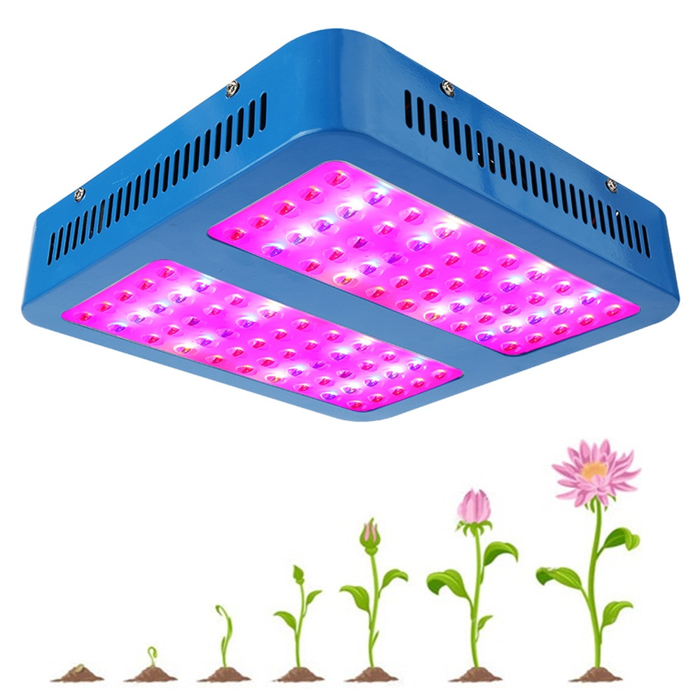 1000W LED Grow Light Full Spectrum Red/Blue/UV/IR For Indoor Plant Aquarium Greenhouse Hydroponic Flowering Growing wholesale 300w high power led grow light red blue uv ir for hydroponics greenhouse grow tent 300w plant lamp free shipping