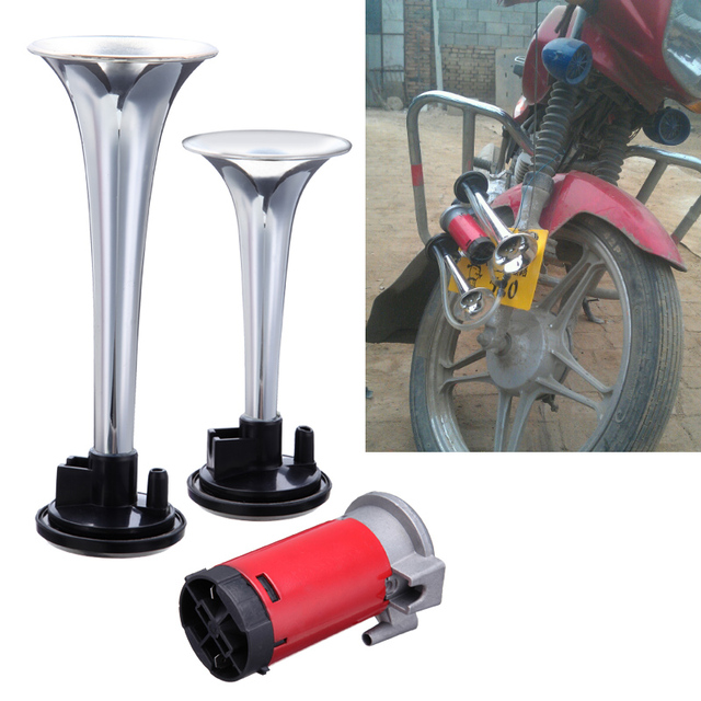 135db 12v Car Truck Motorcycle Train Dual Trumpet Air Horn ... on 12v air conditioners for vehicles, rubber hose for compressor, gas compressor, 12v dc air conditioner, 12v air pump, refrigerator compressor, 12v motor, 12v air conditioning system,