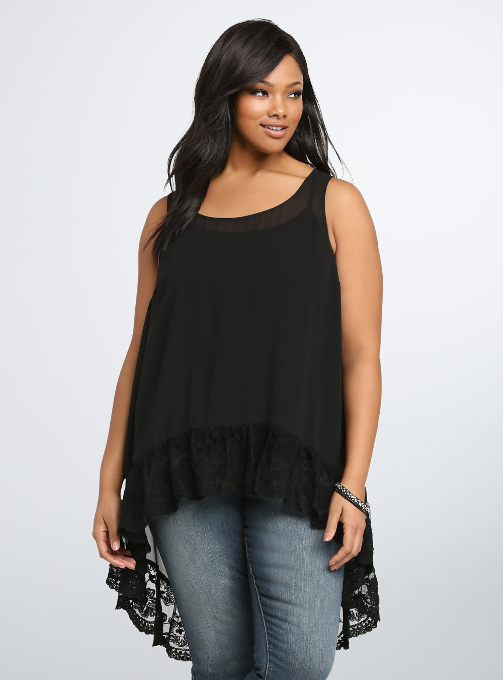 Black Summer Blouses - Breeze Clothing