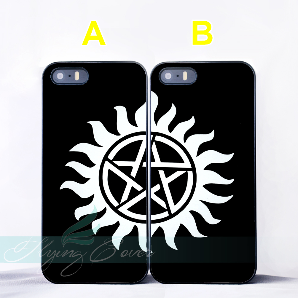 superior quality f77ea 317de US $6.95 |Coque Black Supernatural Best Friend BFF Couple Cases for iPhone  X 8 7 6 6S 7 Plus SE 5S 5C 5 4S 4 Case for iPod Touch 6 5 Cover-in ...