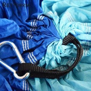Image 3 - 모기 무료 해먹 그물 초경량 야외 휴대용 여행 서바이벌 캠핑 잠자는 hamak 침대 hamac