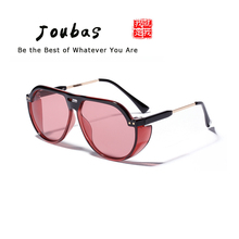 Joubas Pilot Sunglasses 2019 Women/Men Vintage Transparent Sun Glasses Oversized Fashion Cool Big Shades Sport Driving Goggle 98