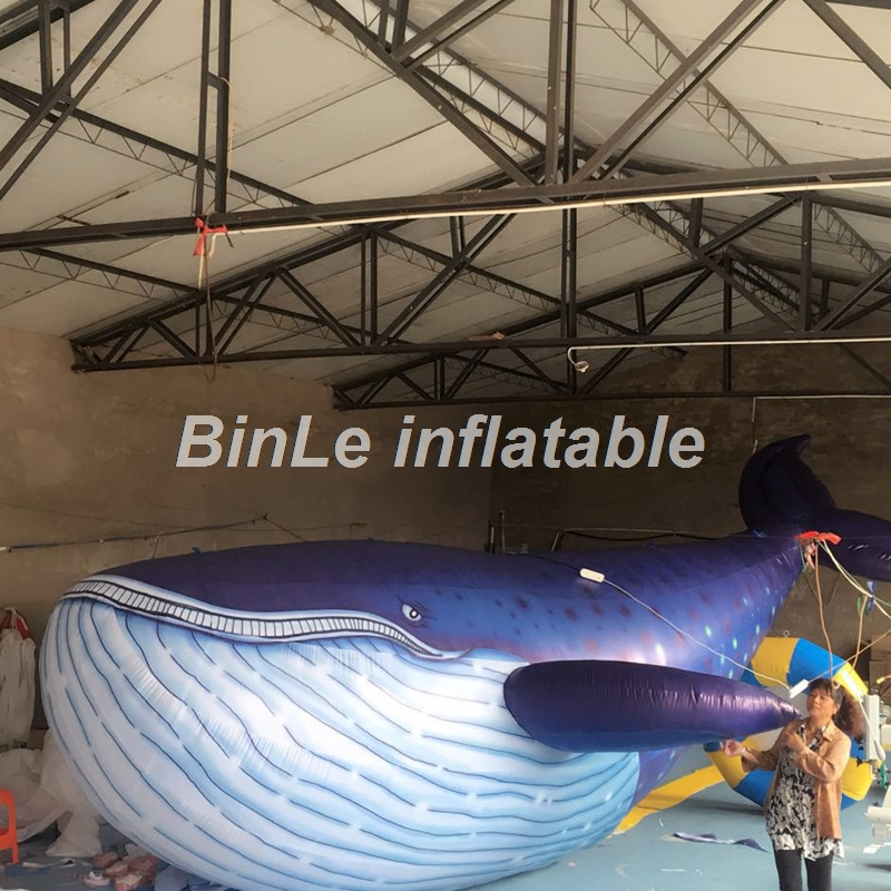 Customized printed advertising giant inflatable shark inflatable whales for events customized 3 meters long giant inflatable shark high quality decorative blow up shark replica for sale toys