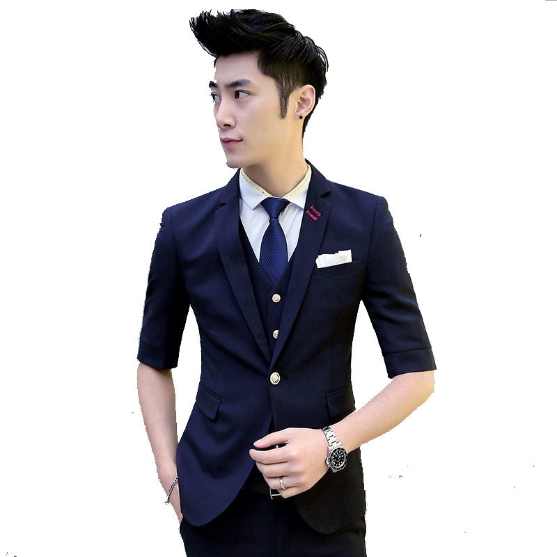 Compare Prices on Summer Blazer Suit Jacket Mens- Online Shopping ...