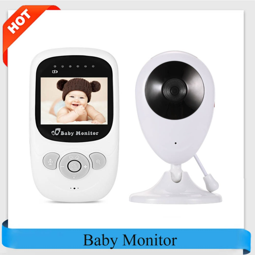 Professional SP880 Wireless Camera Baby Monitor Night Vision Two-way Sleep Monitor 2.4 inch LCD Display Temperature Detection цена 2017