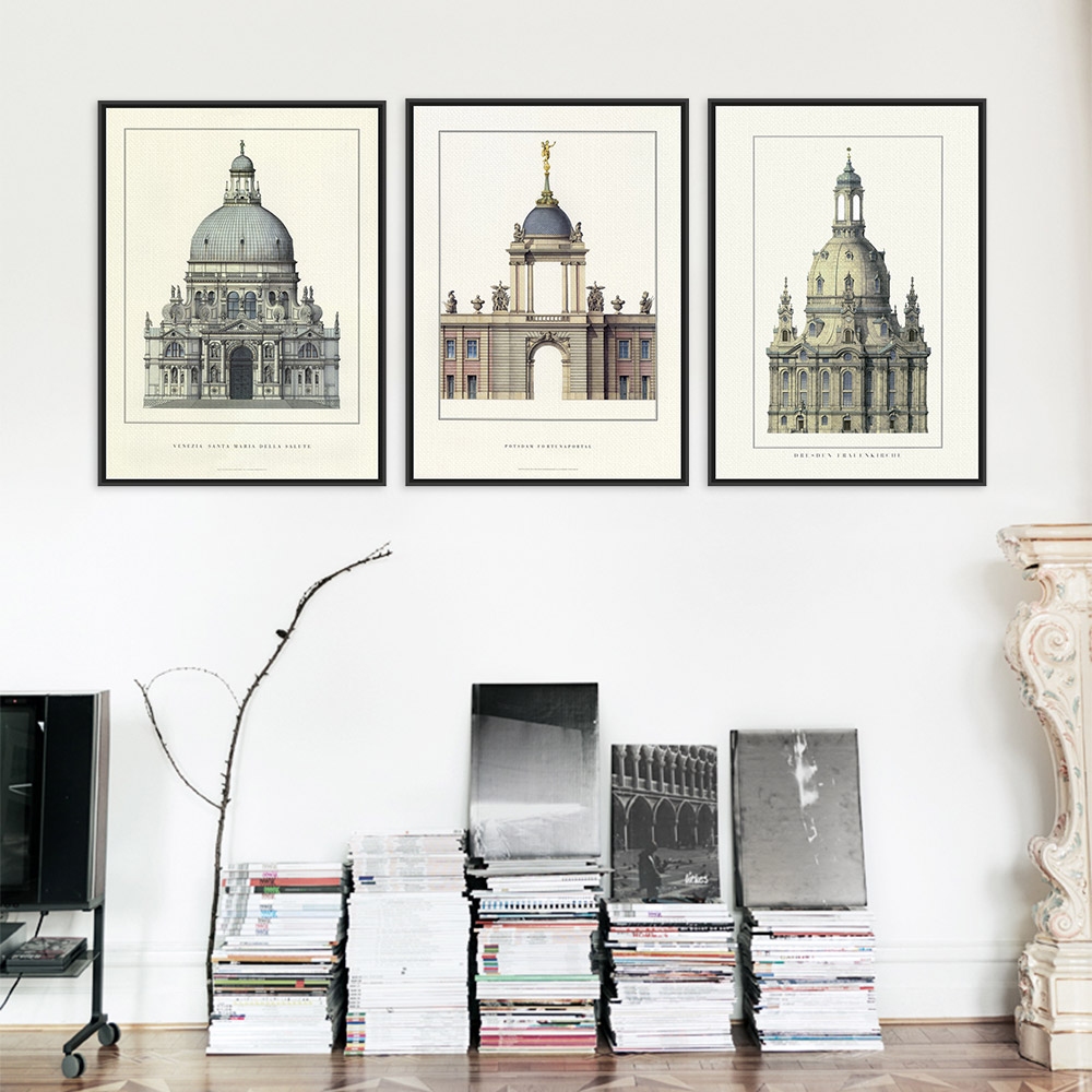 Online Buy Wholesale Modern Architecture Posters From China Modern