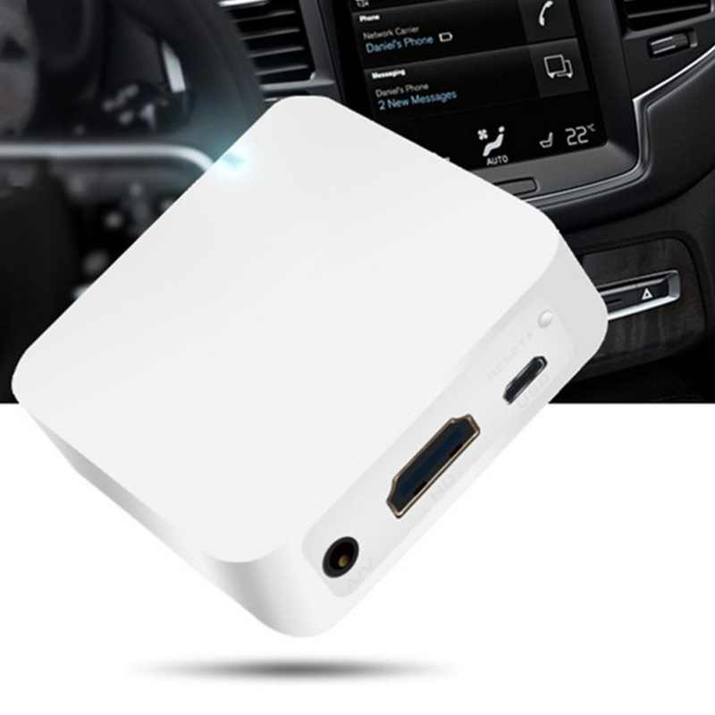 New MiraScreen Car WiFi Display Dongle WiFi Mirror Box Airplay Miracast DLNA GPS Navigation Car for iOS Android Phone  TV