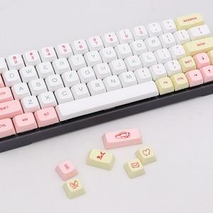 Image 3 - BGKC PG touches PBT DSA, clavier mécanique USB filaire, touches de Sublimation pour teinture thermique Macaron, Cherry MX