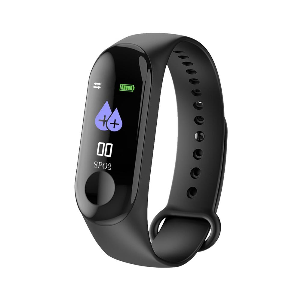 Image 2 - Smart Watch Color Screen Waterproof Fitness Tracker With Heart Rate Blood Pressure Monitor Activity For Android & IOS 2 Color-in Smart Watches from Consumer Electronics