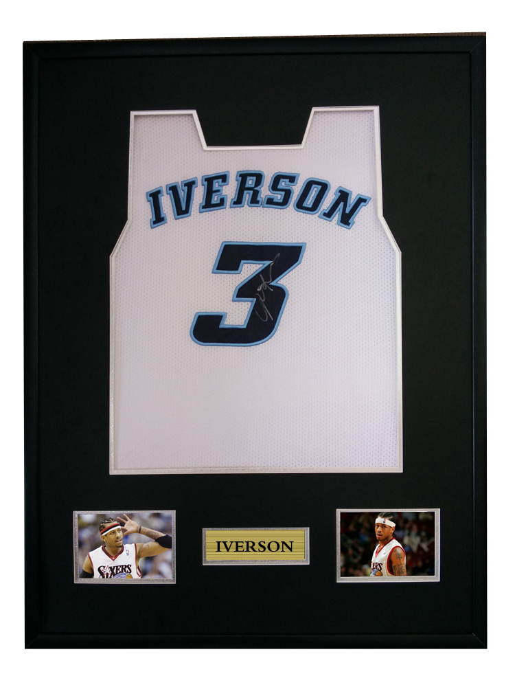 ad8318270a1 Allen Iverson signed autographed basketball shirt jersey come with Sa coa  framed special edition-in Frame from Home & Garden on Aliexpress.com |  Alibaba ...