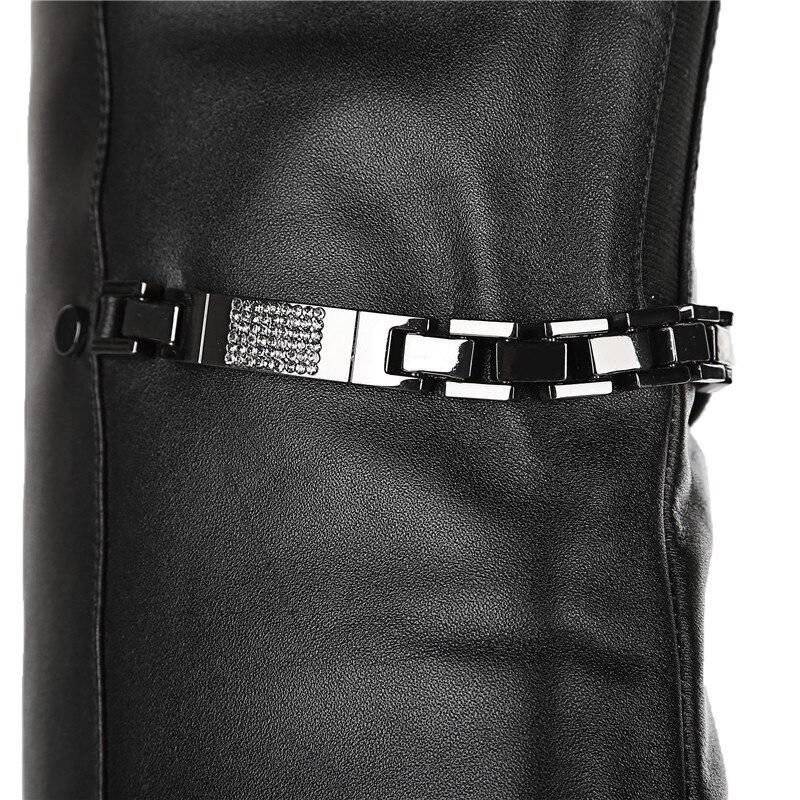 Moda Mujer 34 Botas Sobre Morazora Invierno La Tacones Zapatos Elegantes Rodilla Grande Tamaño En Otoño Negro De 41 Altos qgx0Ez6