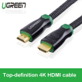 Ugreen High Speed HDMI Cable 1.4V 4K HDTV 3D 1080P Cabo for PS3 Projector LCD TV Smartbox Compatible to HDMI 2.0 Cable