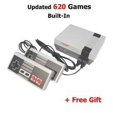 Новое прибытие Мини ТВ ручной Ретро игровой консоли для ne игры с 620 классических игр встроенный PAL и NTSC