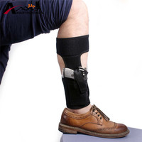 Adjustable Pistol Ankle Holster Concealed Ankle Carry Gun Holster With Magazine Pocket For Small Medium Frame