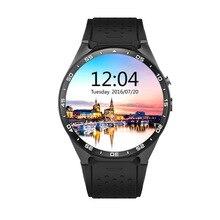 Хорошее 100% Оригинальные kw88 ОС Android 5.1 Смарт-часы Android 1.39 дюймов MTK6580 SmartWatch Phone Support 3G Wi-Fi Nano SIM WCDMA