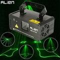 ALIEN DMX 100mW Green Laser Stage Lighting Scanner Effcet Xmas Bar Dance Party Show Light DJ Disco Laser Projector Lights