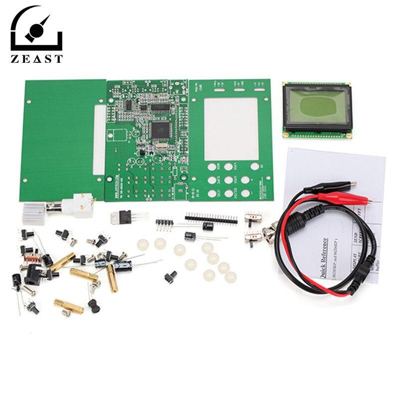 DSO062  Mini LCD Digital Oscilloscope DIY Kit Real-time Sampling Rate Oscilloscopio 1M Banwidth 2Msps DIY partsDSO062  Mini LCD Digital Oscilloscope DIY Kit Real-time Sampling Rate Oscilloscopio 1M Banwidth 2Msps DIY parts