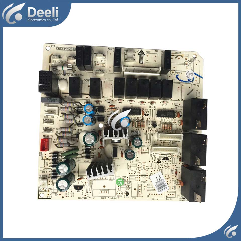 good working for air conditioning Computer board 30133017 GRJ302-A1 M303F3M circuit board used original good working for tcl air conditioning computer board used circuit board tcl32ggft808 kz