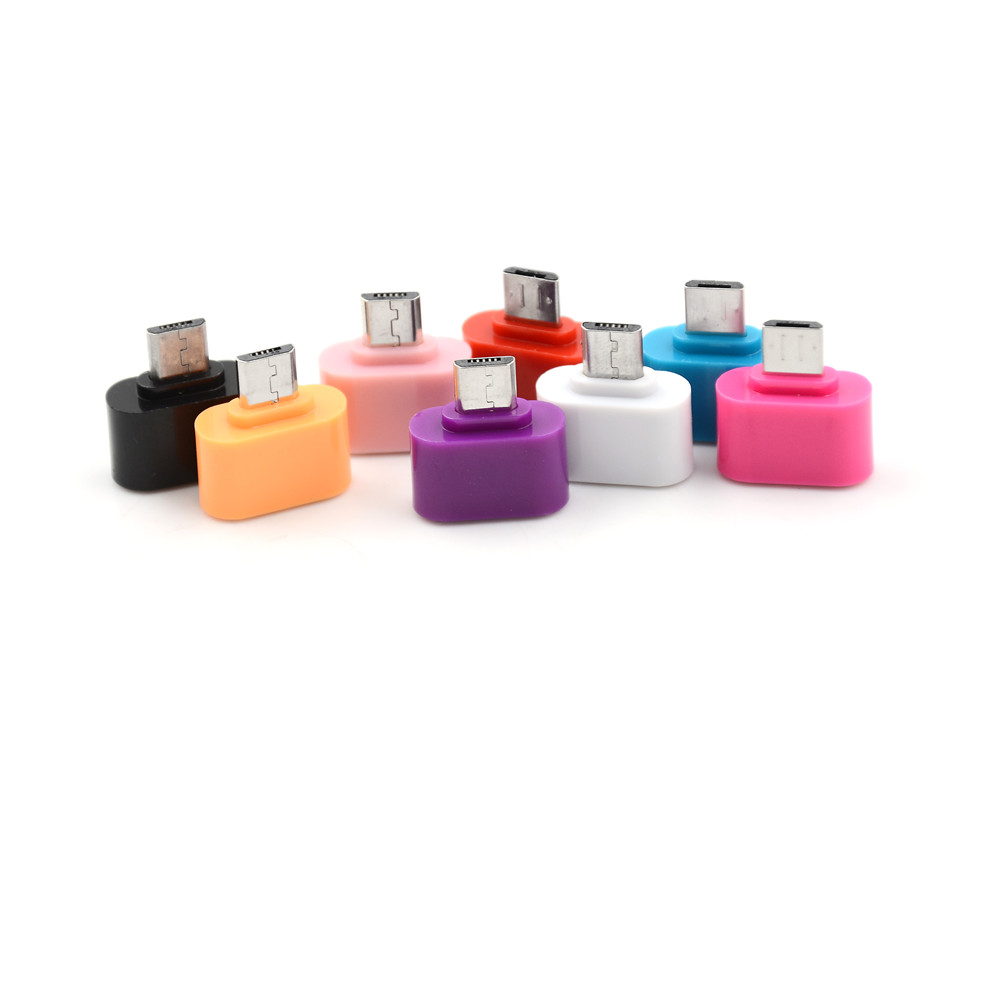 3pcs/lot Factory Price Hot Selling Micro USB To USB OTG Mini Adapter Converter For Android SmartPhone