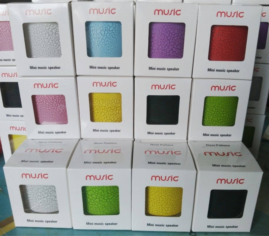 100Pcs/Lot LED Mini Portable Wireless Bluetooth Speakers Hands Free FM For Iphone Music Sound Box Subwoofer