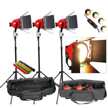 Photo Studio Video Redhead Red Head Light Lamp Continuous Lighting Kit DIMMER built in Earthed cd50(China)
