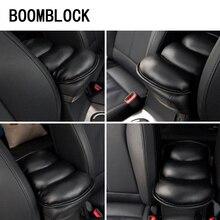 Auto Armrest Box Pad Covers For Mitsubishi axs lancer 9 10 I200 Chery Tiggo 5 3 t11 Mini Cooper R56 2017 Car styling Accessories