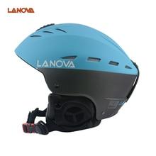 LANOVA marque casque de ski adulte casque de ski homme de patinage/planche à roulettes casque multicolore neige sport casques