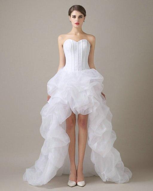 Abiti da sposa 2017 white wedding dresses china branco organza abiti da sposa 2017 white wedding dresses china branco organza ruffle vestidos de novia vestido de junglespirit Images
