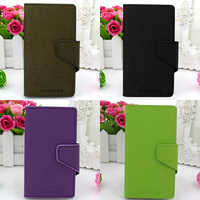 GENMORAL New Brand Design PU Leather Cover Mobile Phone Bag Pouch Skin Shell Case Flip For