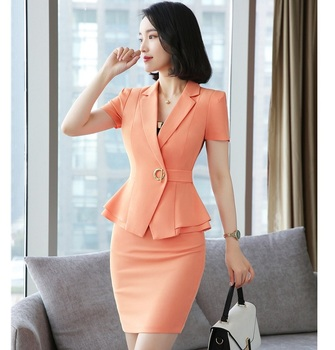 Womens Casual Skirt Suits
