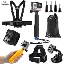 SnowHu For Gopro Accessories for  xiaomi yi gopro hero 7 6 5 ZH72