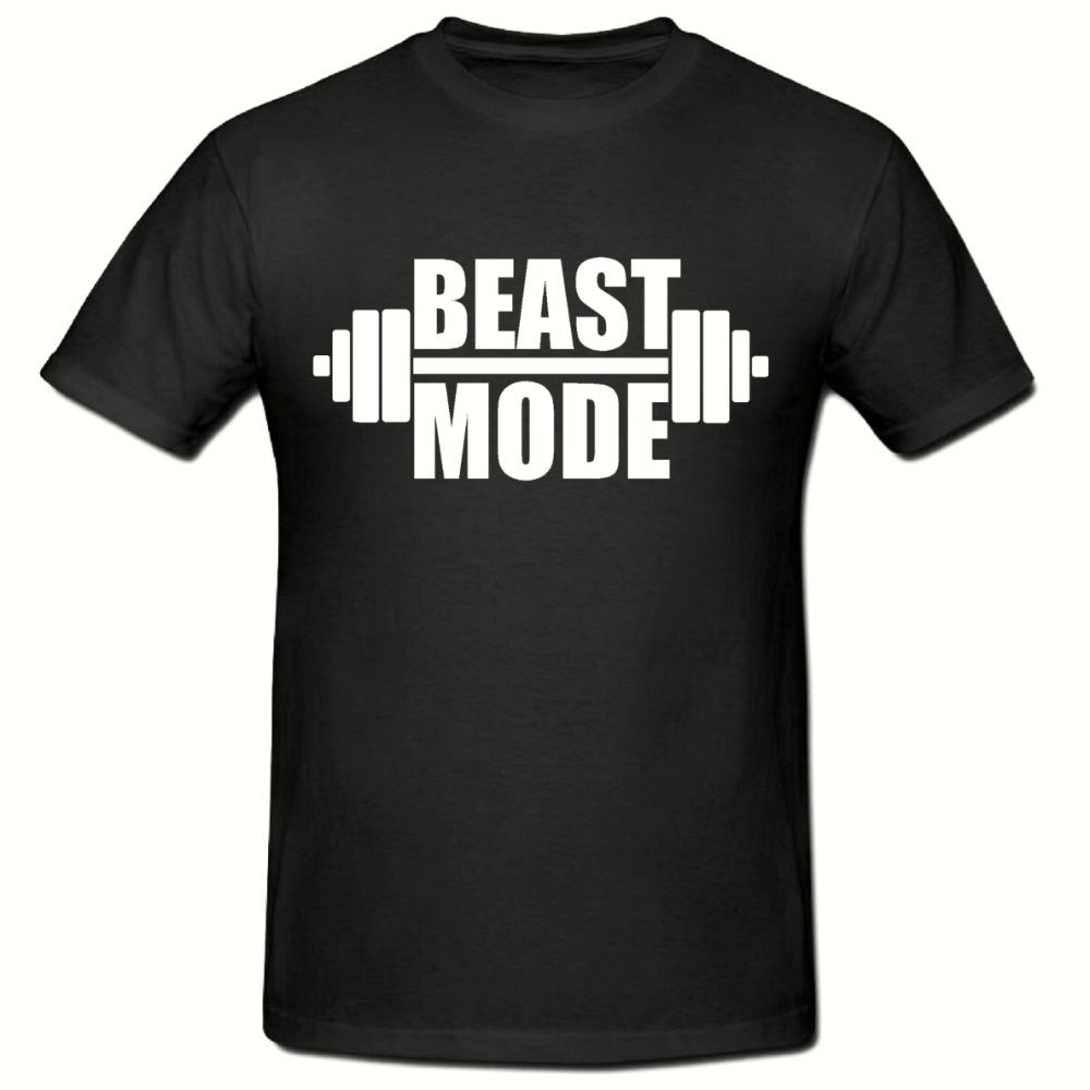 BEAST MODE T SHIRT FUNNY NOVELTY MENS T SHIRT SM 2XL T SHIRT New T Shirts Funny Tops Tee New Unisex Funny Topsfree shipng in T Shirts from Men 39 s Clothing