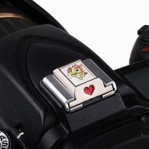 Image 5 - Chinese Zodiac DSLR Camera Flash Hot Shoe Cover for Canon Nikon Sony Fuji Olympus Panasonic Pentax Samsung Metal Hot Shoe Cover