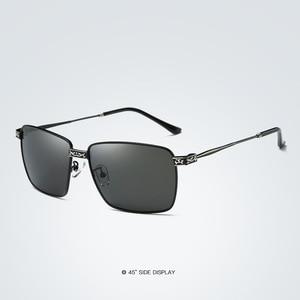 Image 3 - Chic Brand Designer Polarized Sunglasses Men Alloy Driving Glasses UV400 Eyewear Classic Oculos Fishing Gafas De Sol Hombre E215