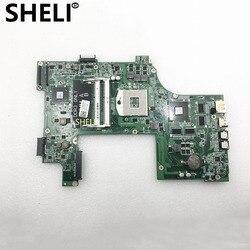 SHELI dla DELL płyta główna płyta główna laptopa Vostro 3750 V3750 płyty głównej płyta główna CN 01TN63 01TN63 DAV03AMB8E1 tesed DDR3|Płyty główne|Komputer i biuro -