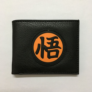 Hot New Arrival Dragon Ball Z Wallets Men's Purse 3D PVC LOGO Decoration With Card Holder Coin Pocket Dollar Price Wallet Men(China)