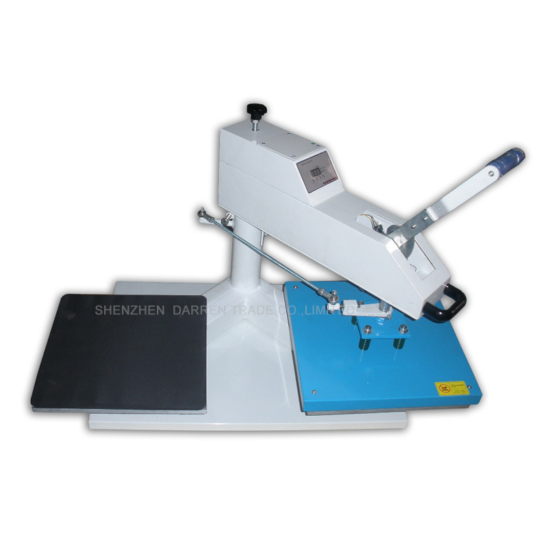 High quality Double Tables Heat Press Machine 1 pcs 38 38cm small heat press machine hp230a