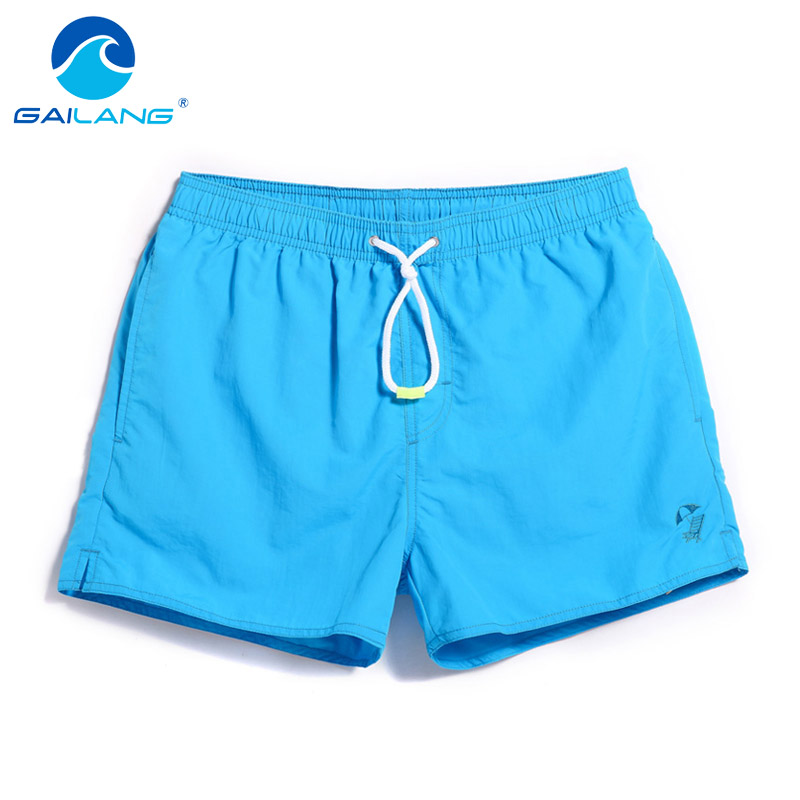 Gailang Brand Men Beach Shorts Boxer Trunks Boardshorts Men's Swimwear Swimsuits Bermuda Short Bottoms Quick Drying Casual Boxer