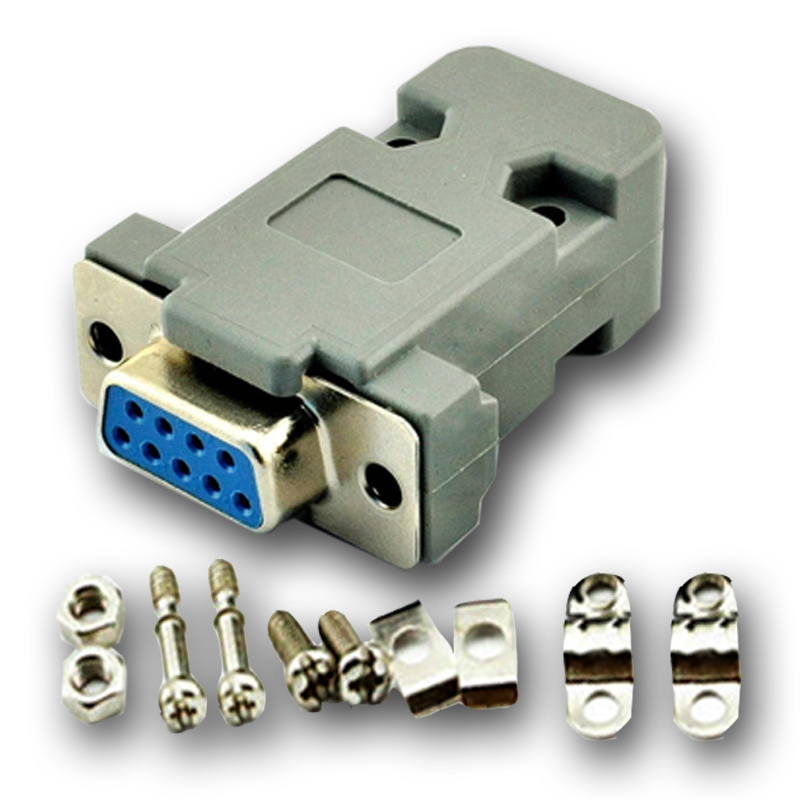 DB-9 DB9 RS232 Female Connector with socket D-Sub 9 pin PCB Connector original 6609113 9 connector
