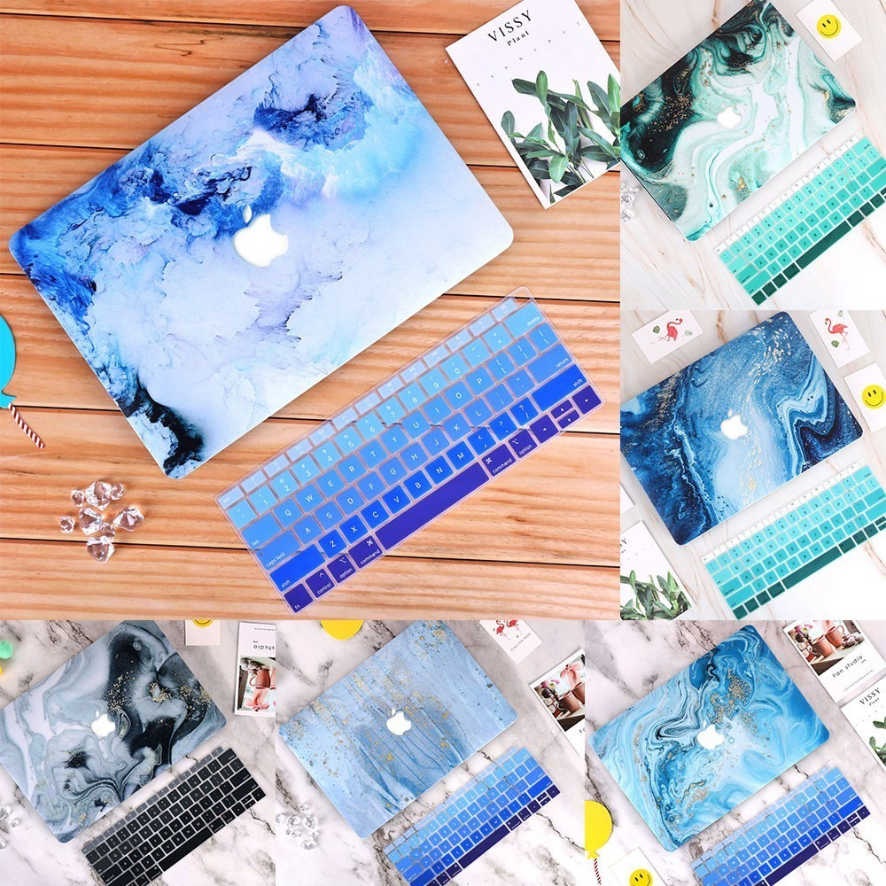 New Marble 3D Print For Macbook Case Laptop Sleeve Notebook Cover For Macbook Air Pro Retina 11 12 13 15 13.3 15.4 Inch Torba