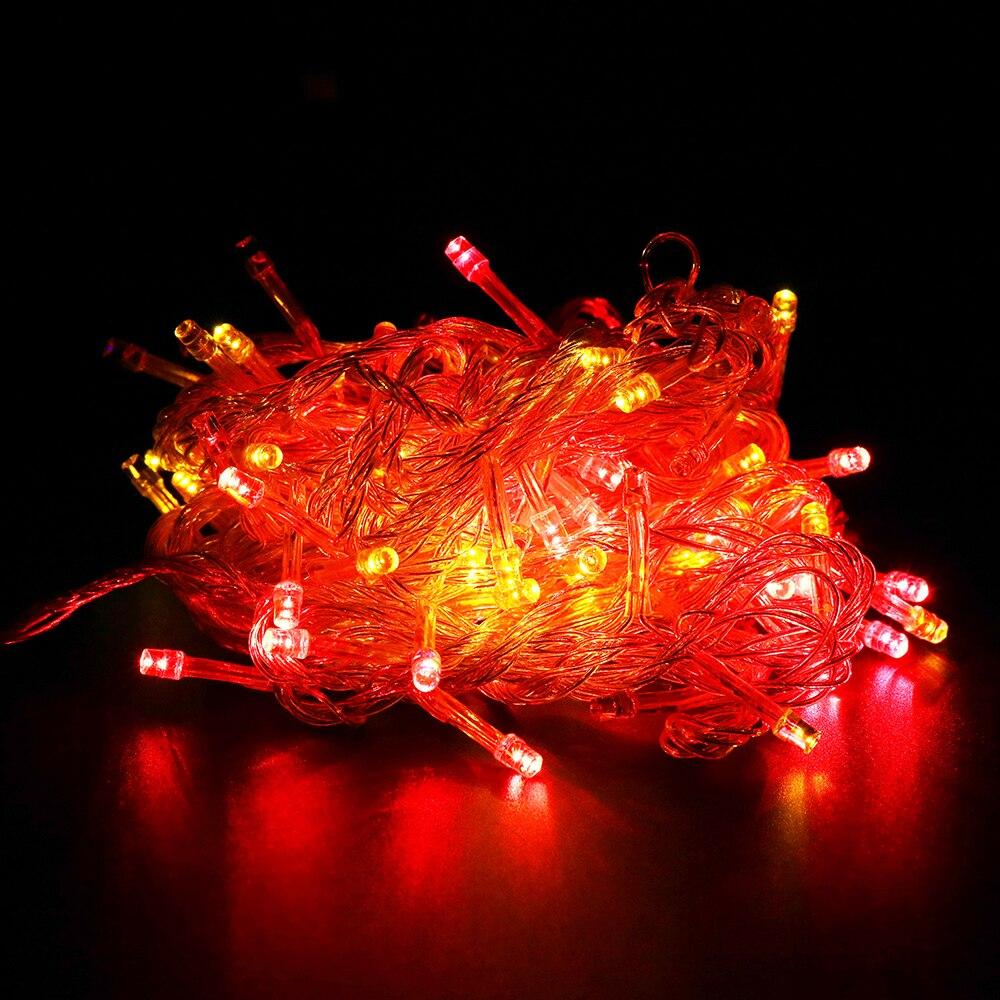 Ledsträngslampor 2M 3M 4M 1M 10-40Leds 9 färger drivna med batteri - Festlig belysning - Foto 6