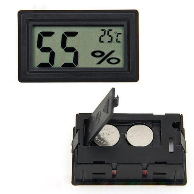 Elegant Digital Thermometer For Greenhouse, Temperature Measure Sensor Thermometer  U0026 Humidity Measure Hygrometer For House Room