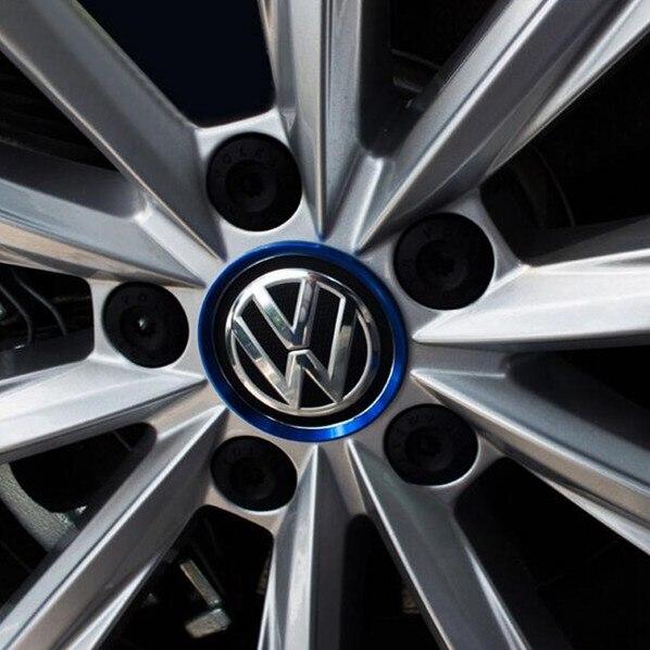 4 Pcs/lot Ho New Refitting Accessories For Volkswagen VW Golf 4 5 6 Polo Passat B5 B6 B7 Jetta Mk6 Tiguan Gol Cross Fox Plus CC