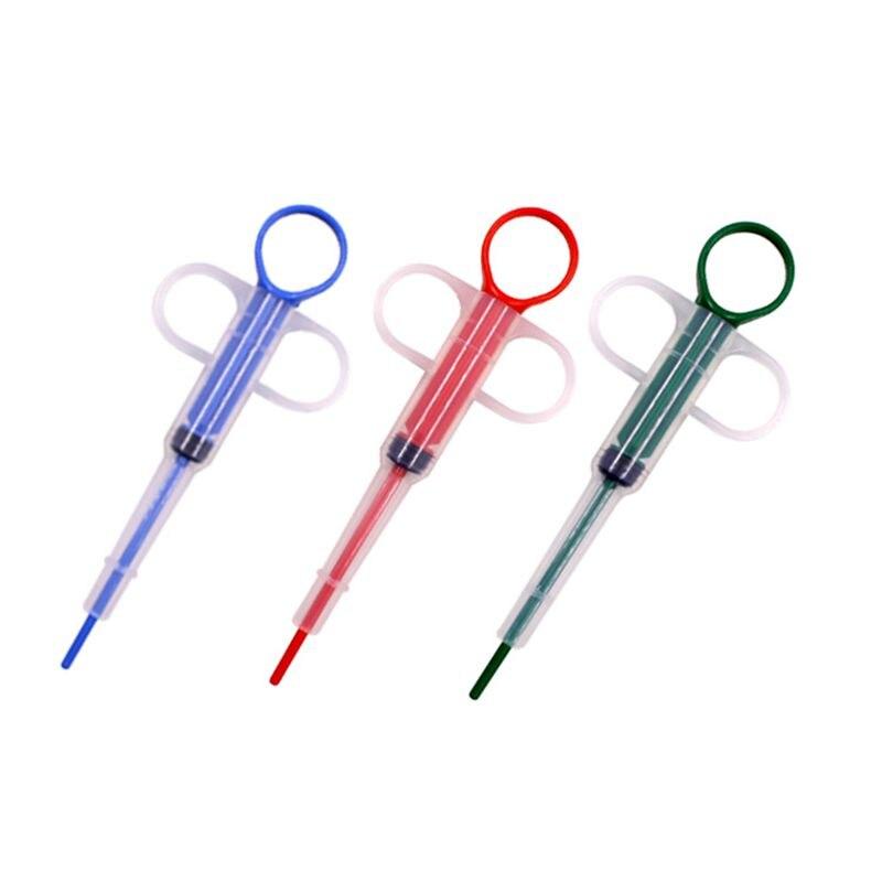 Pet Medical Dispenser Tool Pill Shooter Medicine Syringe For Small Dogs Cats, Medicine Tablet, Capsule, Liquid Feeding Syringe