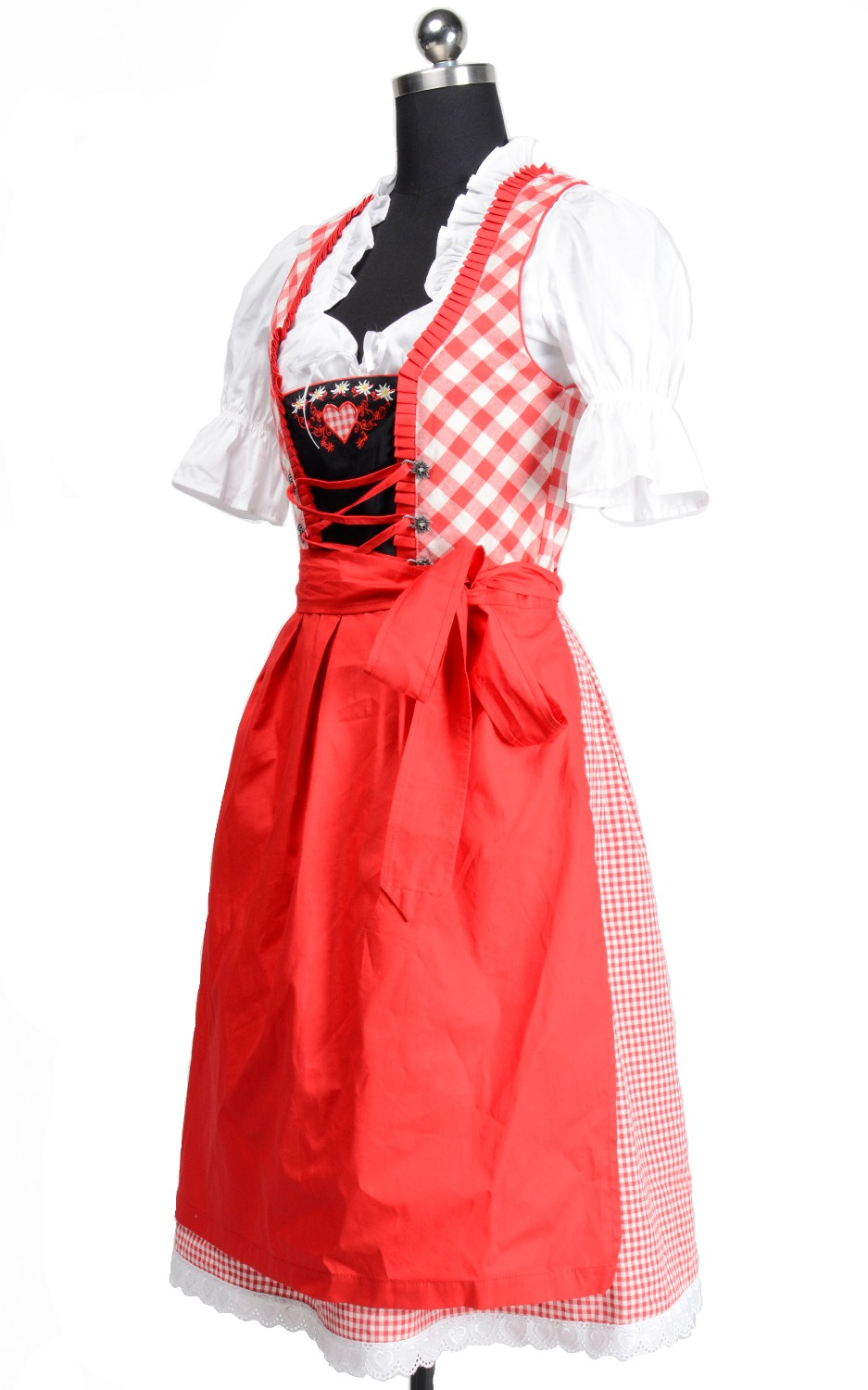 White apron ale - 2017 Oktoberfest Europe Beer Carnaval Festival October Dirndl Skirt Dress Apron Blouse Gown Embroidered High Quality Costume