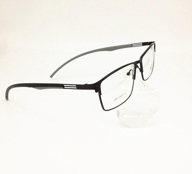 eee77063d5 Eyesilove gafas ópticas ultraligeras con montura de memoria marco óptico de  titanio para marco de gafas