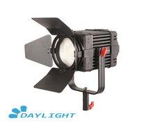1 Pc CAME TV Boltzen 100w פרנל Fanless Focusable LED אור יום Led וידאו אור