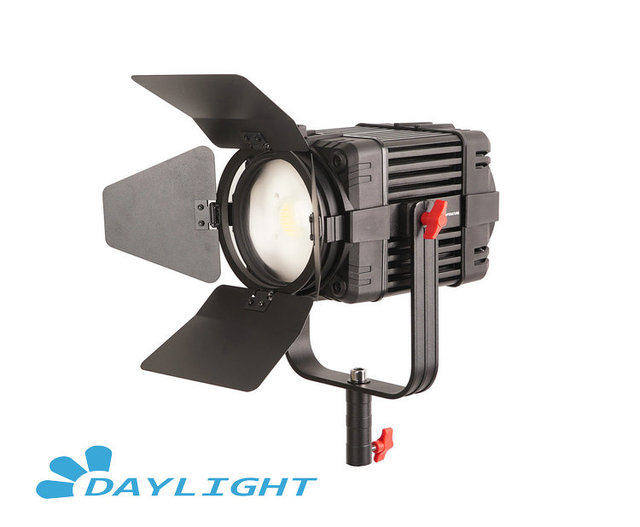 1 Pc CAME TV Boltzen 100w Fresnel Fanless Focusable LED 일광 Led 비디오 라이트