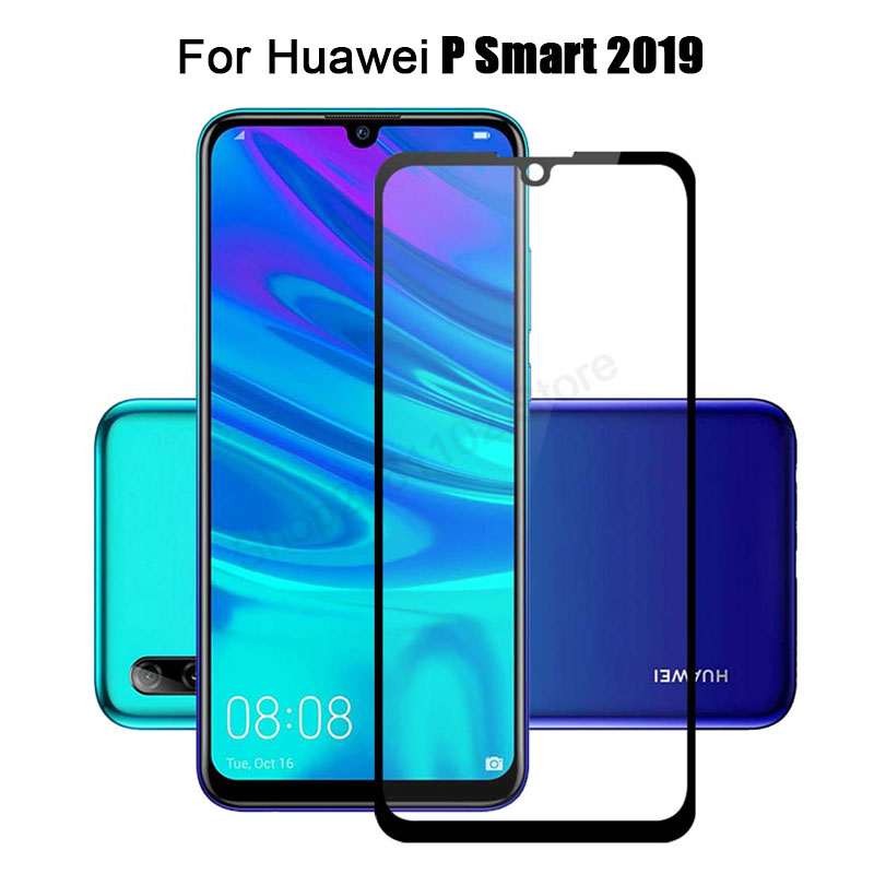 Protective glass on for Huawei P smart plus 2019 tempered glas psmart hauwei huawey huavei full cover screen protector 9h filmProtective glass on for Huawei P smart plus 2019 tempered glas psmart hauwei huawey huavei full cover screen protector 9h film